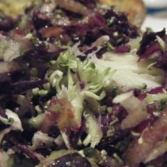 Asian Broccoli Cole Slaw (ish)