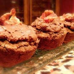 Bacon Chocolate Muffins