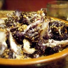 Purple Roasted Cauliflower