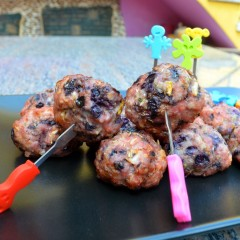 Chicken Bacon Berry Balls