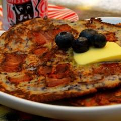 Blueberry Bacon Pancakes