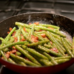 Satay Bacon Green Beans
