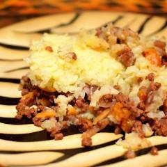 Paleo Lebanese Meat Skillet Pie